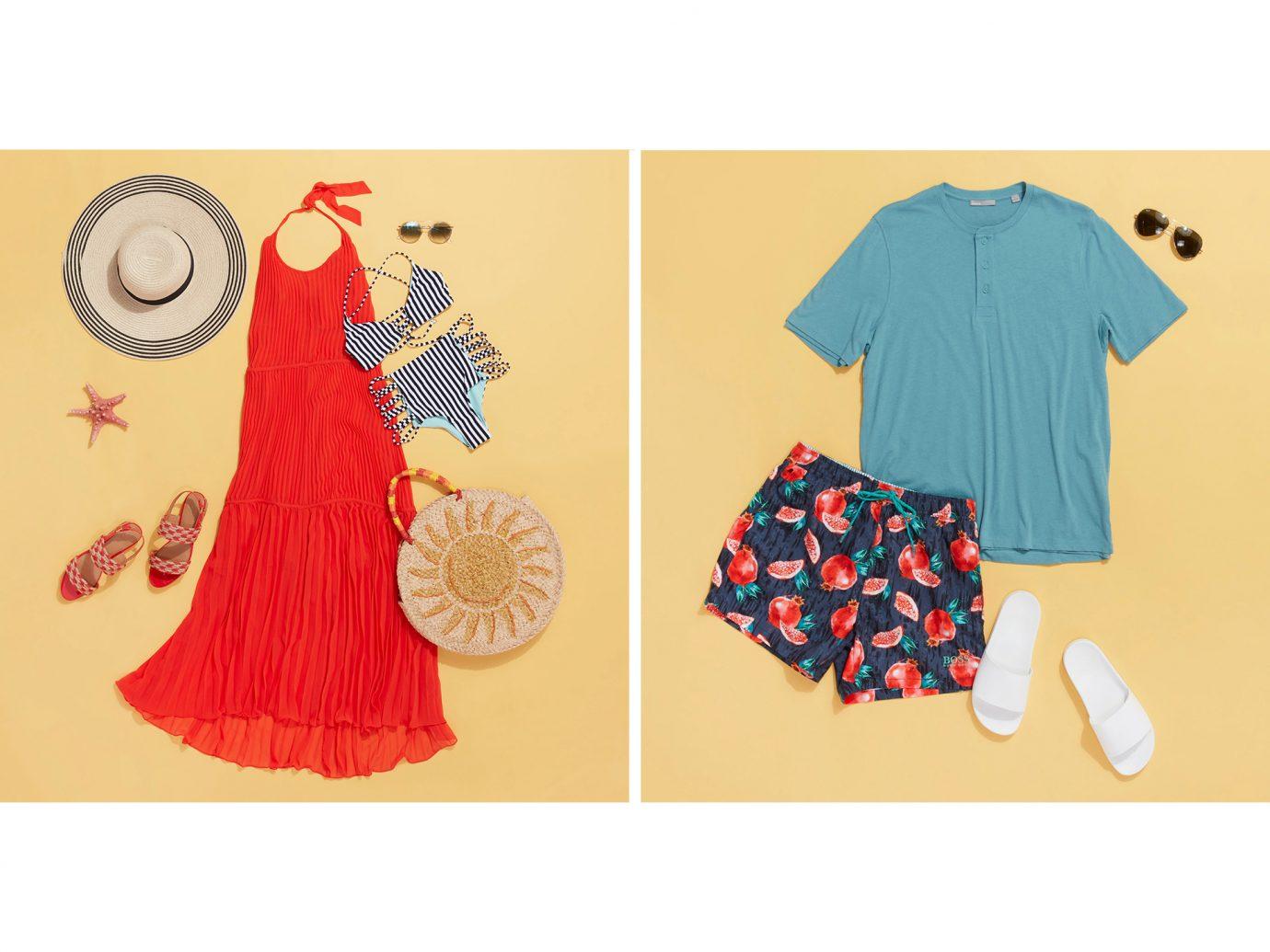 portofino outfit collage