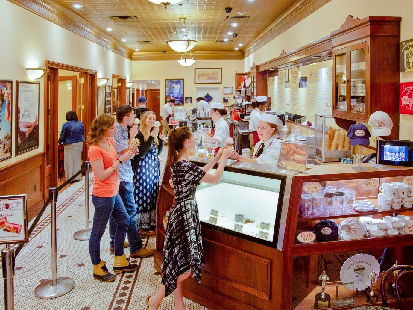Leopold's Ice Cream in Savannah Georgia