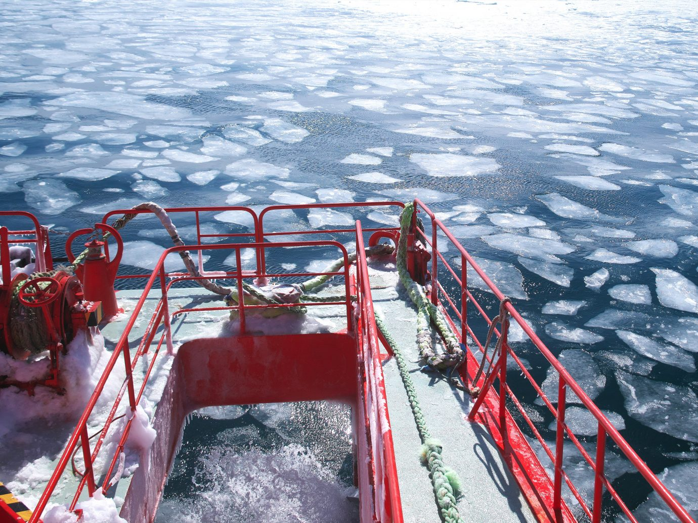 Garinko number of drift ice icebreaker