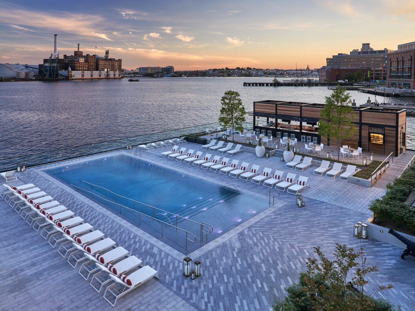 Pool Bar & Grill at the Sagamore Pendry Baltimore