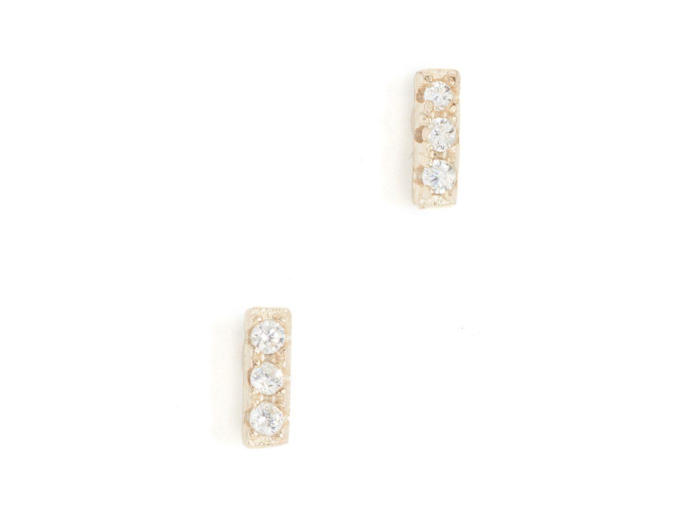 Shashi Tiny Bar Earrings