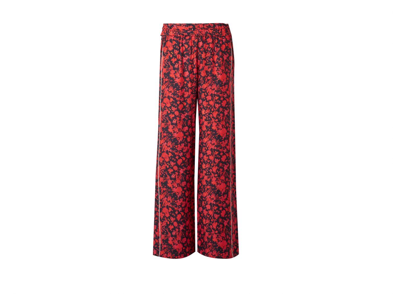 IRO Mystery floral-print twill wide-leg pants
