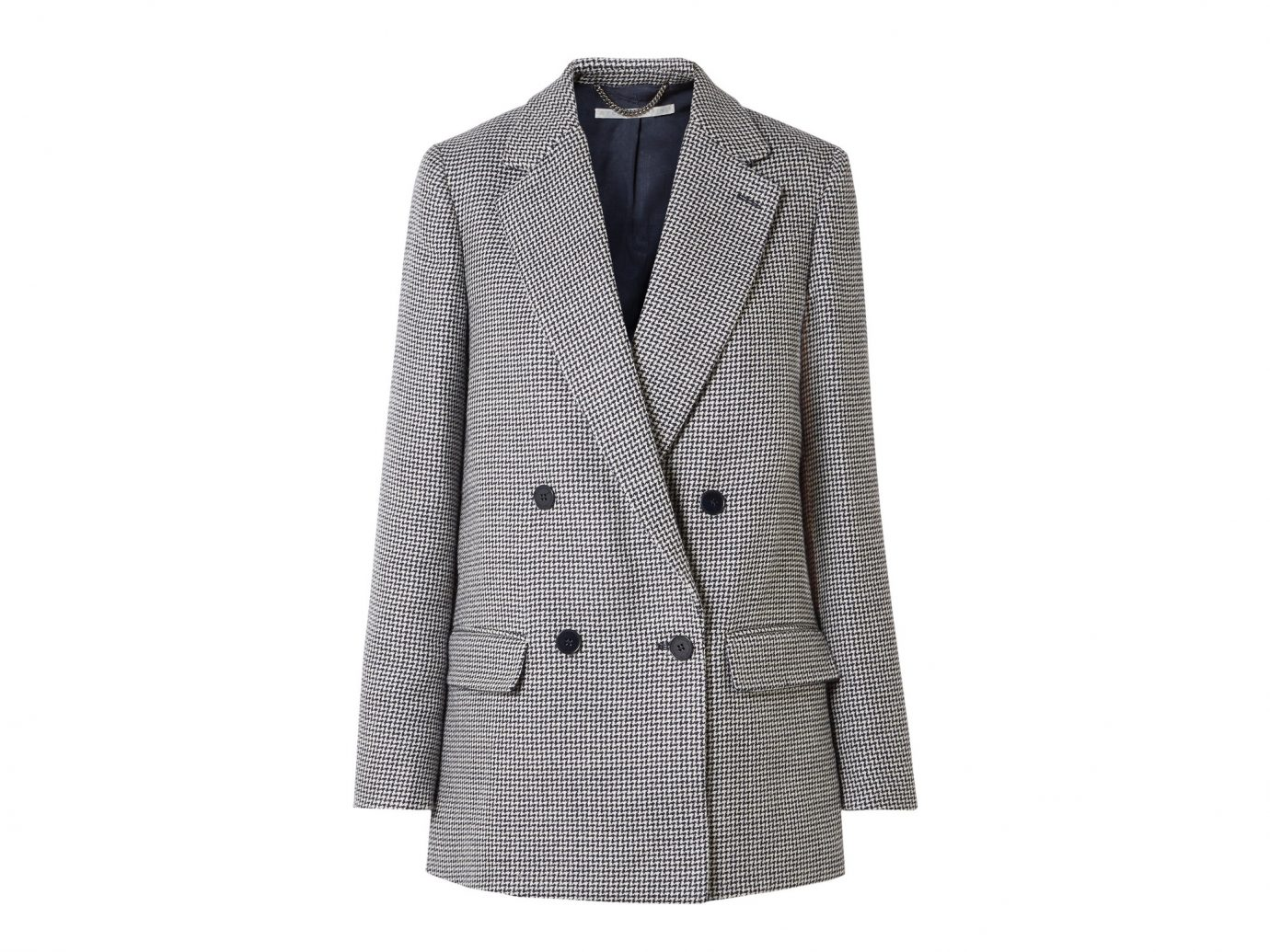 Stella McCartney Milly Oversized wool-tweed blazer