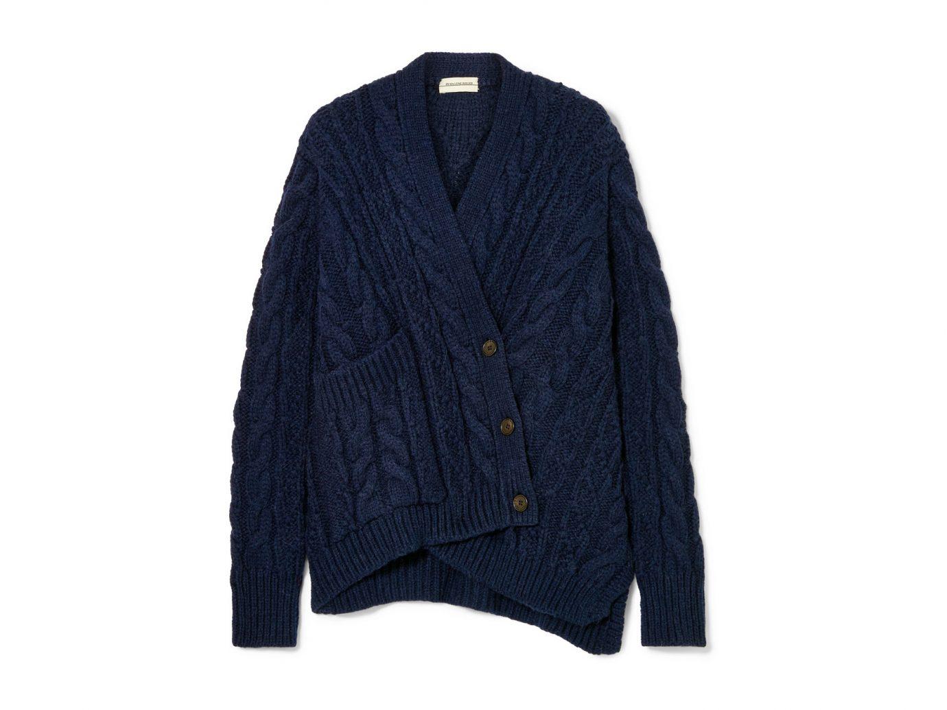 By Malene Birger Talanie asymmetric cable-knit cardigan
