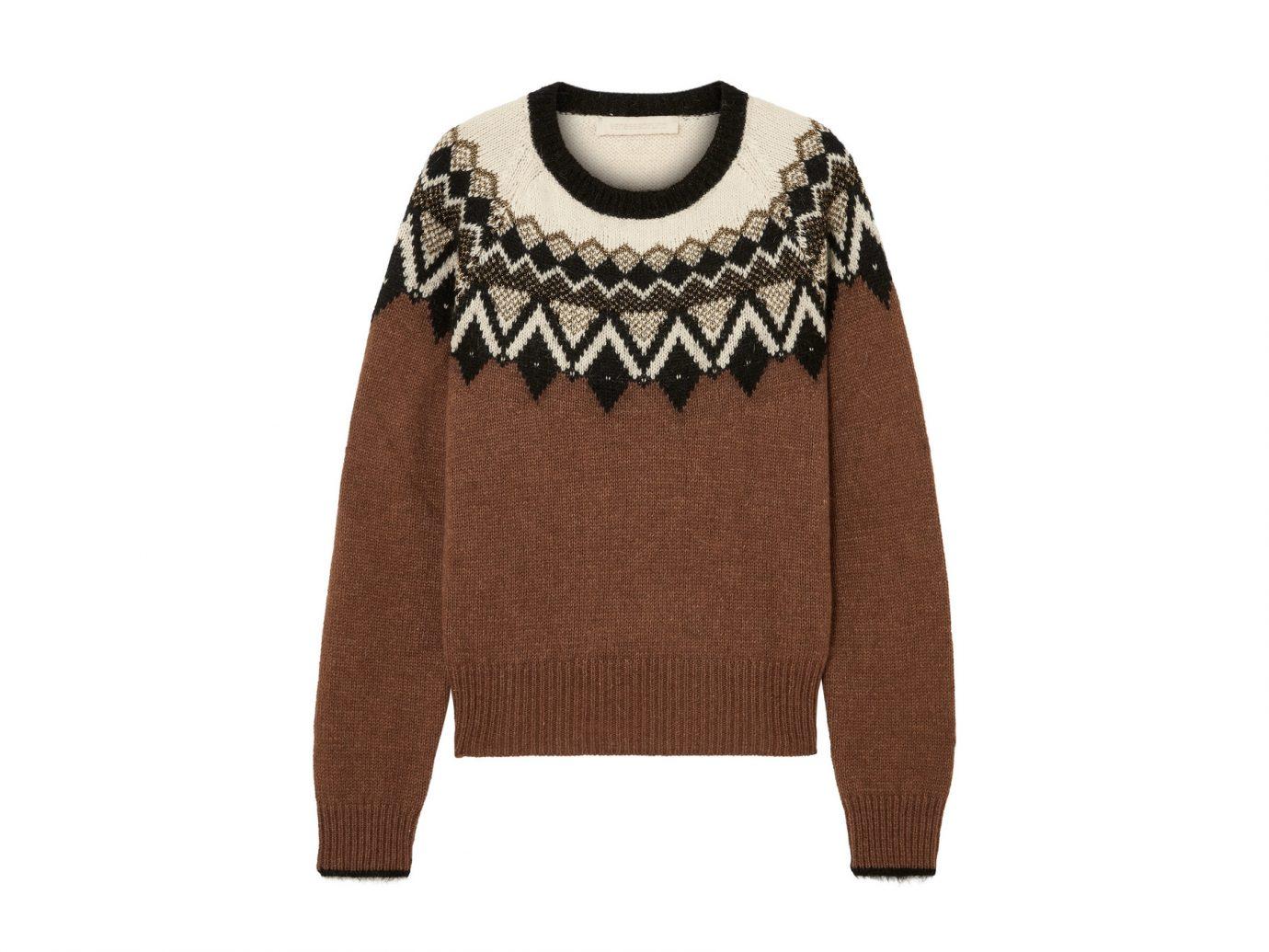 Vanessa Bruno Joleen metallic intarsia alpaca-blend sweater
