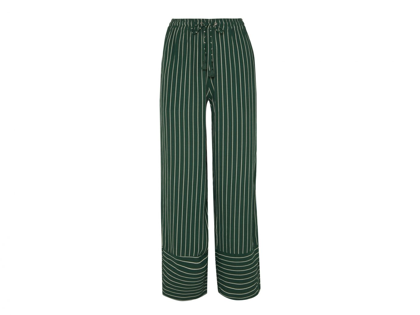 Faithfull The Brand Havana Striped Crepe Pants