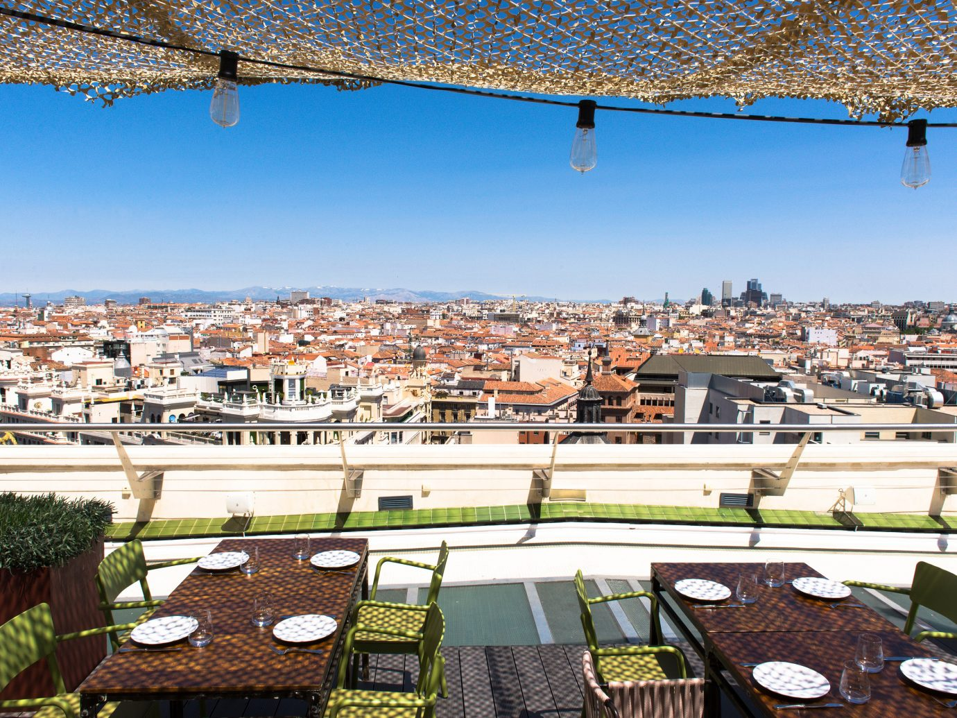 Rooftop bar of Circulo de Bellas Artes