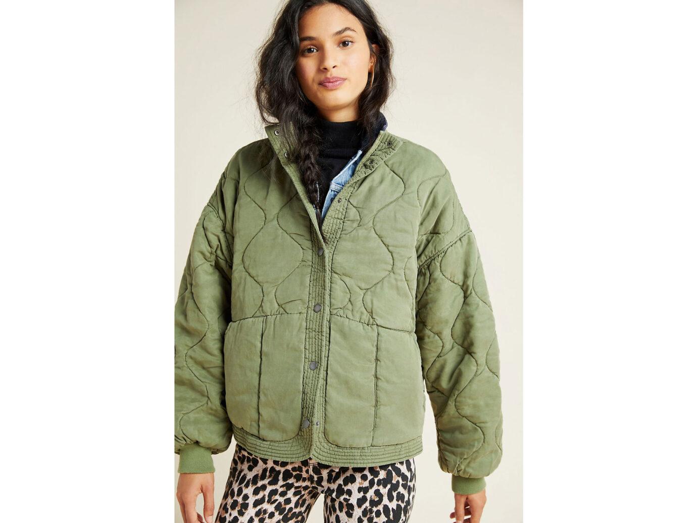 BLANKNYC Fonda Quilted Utility Jacket
