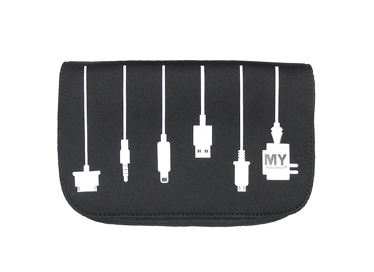 MYTAGALONGS Travel Case for Chargers and Cords