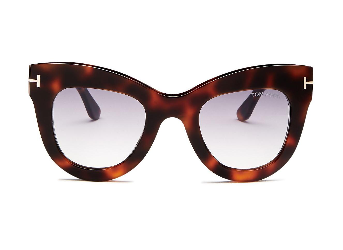 Tom Ford Women's Karina Cat Eye Sunglasses