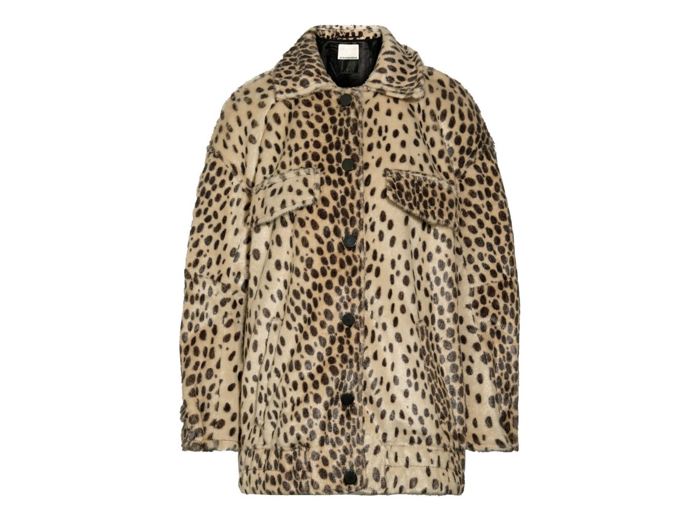 By Malene Birger Tiara oversized leopard-print faux calf hair bomber jacket