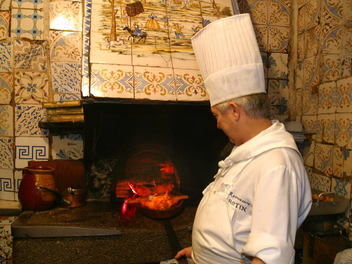 chef at Botin restaurant