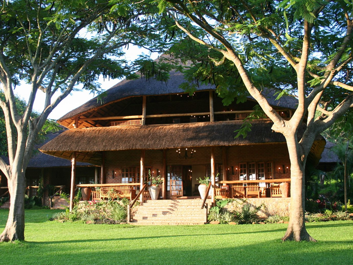 Main Lodge Outside Kumbali Lodge