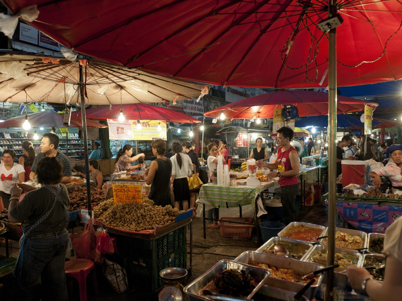 Thailand, Ciang Mai night bazar