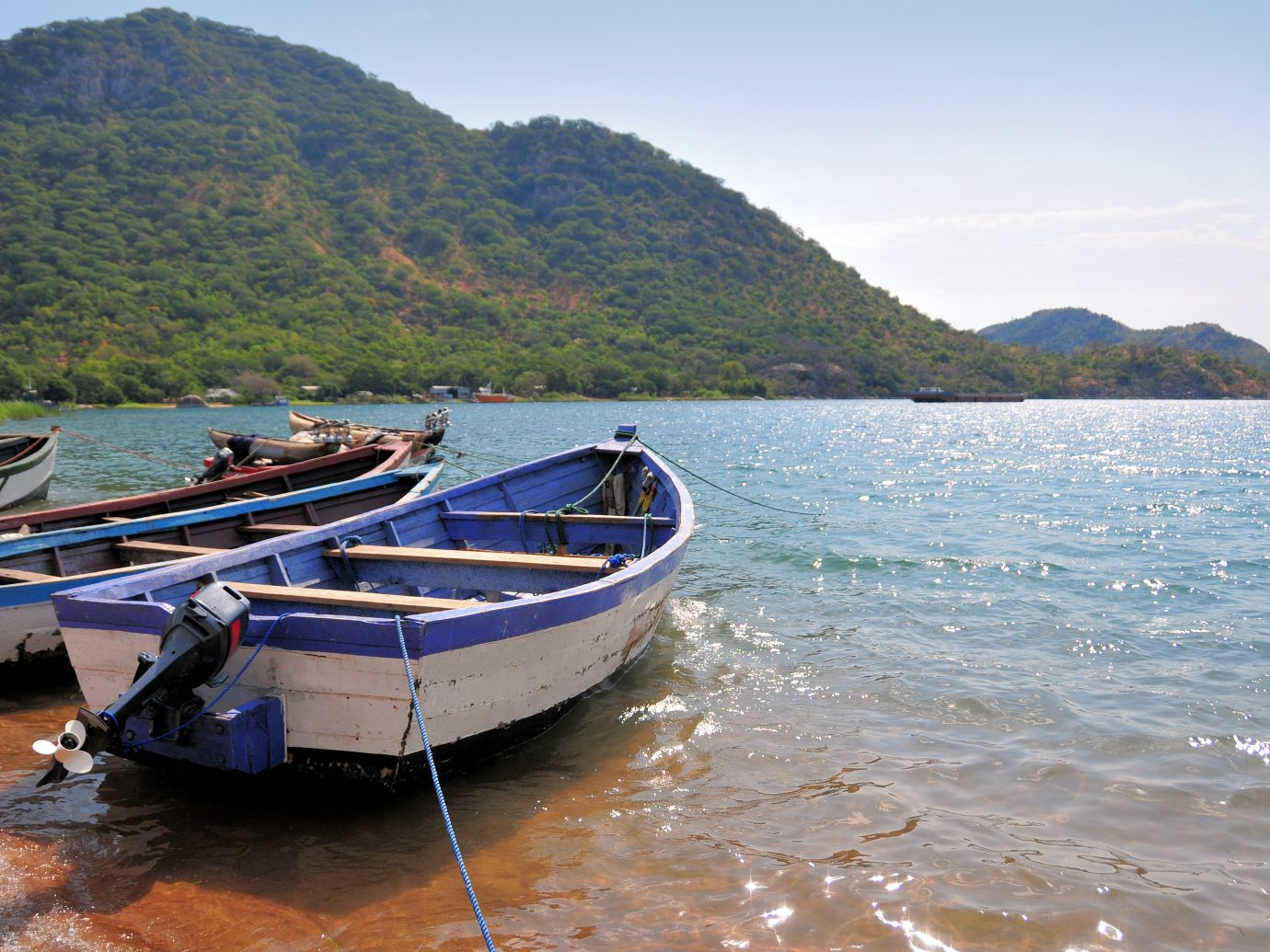 fishing boats - Lake Malawi, Nankumba Peninsula