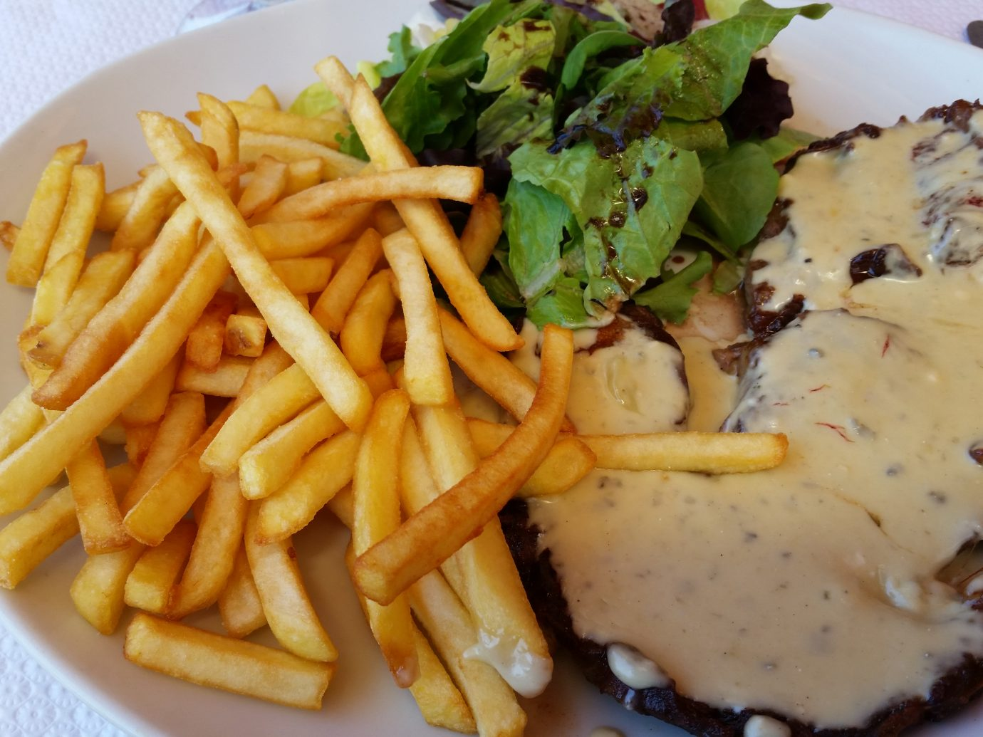Steak Frites at Bistrot Paul Bert in Paris, France