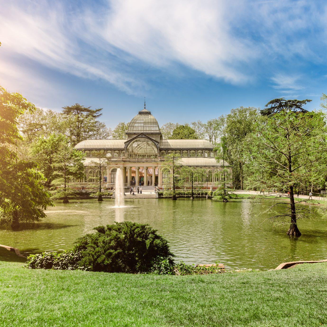 Crystal Palace (Palacio de Cristal) Madrid, Retiro Park