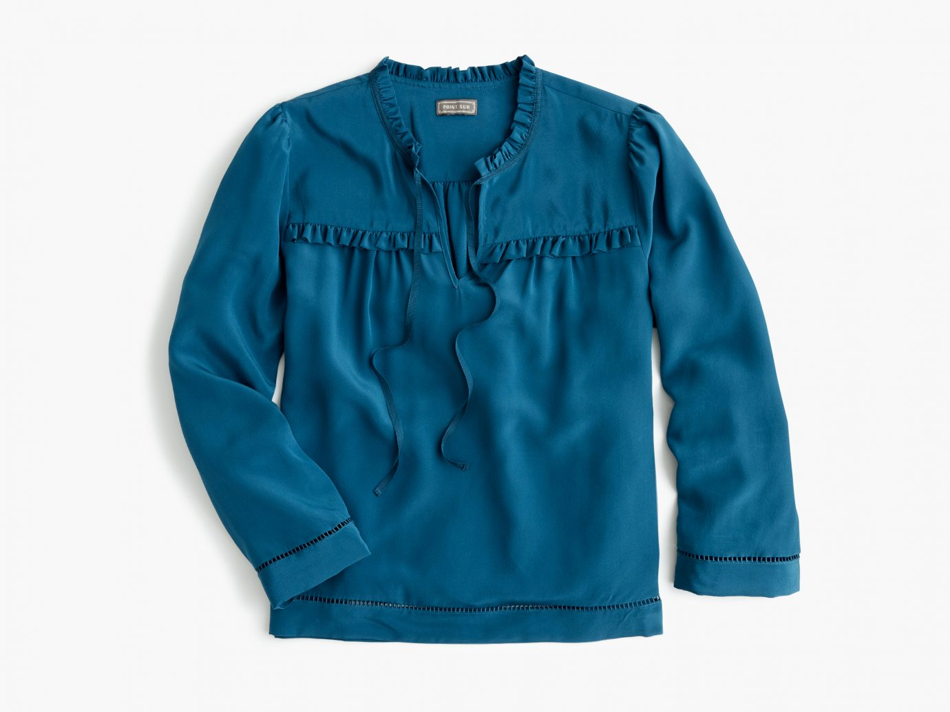 Silk Popover Shirt