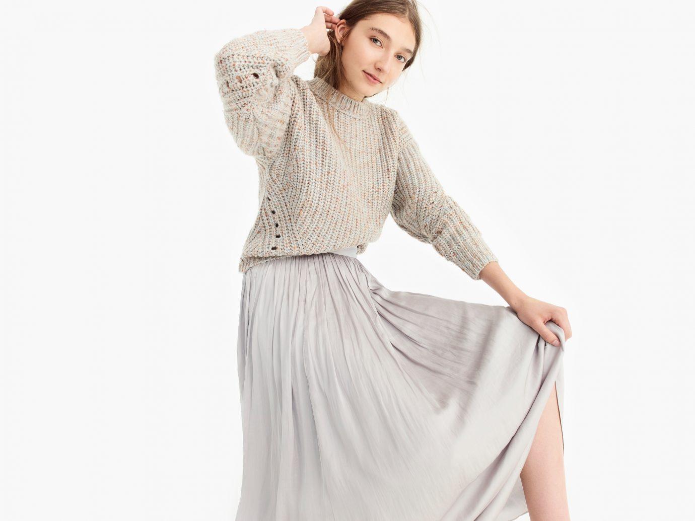 Chunky Ribbed Crewneck Sweater