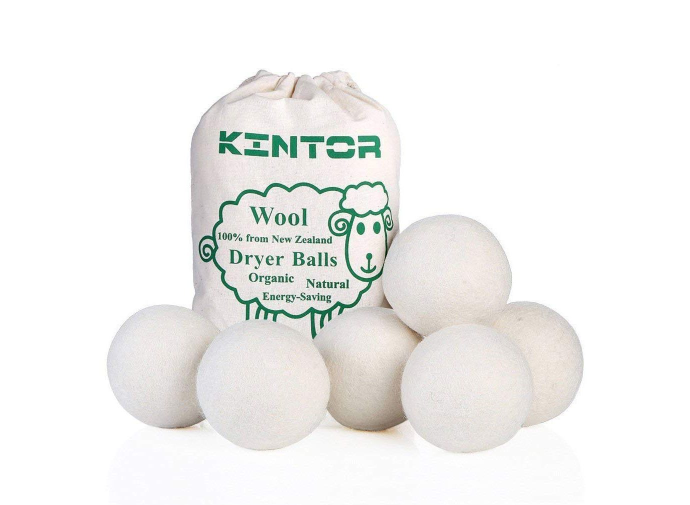KINTOR Wool Dryer Balls