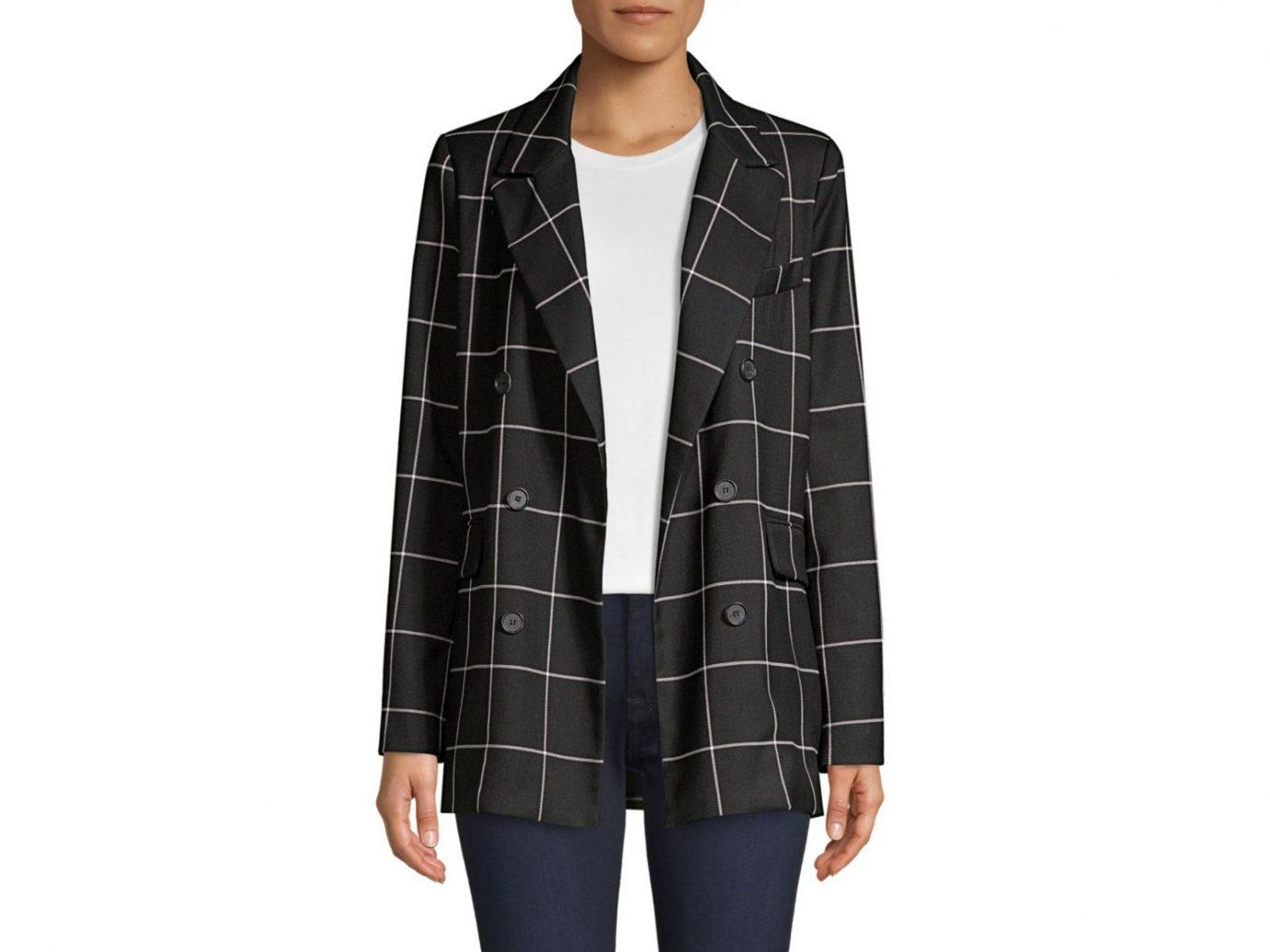Joie Harlene Check-print blazer