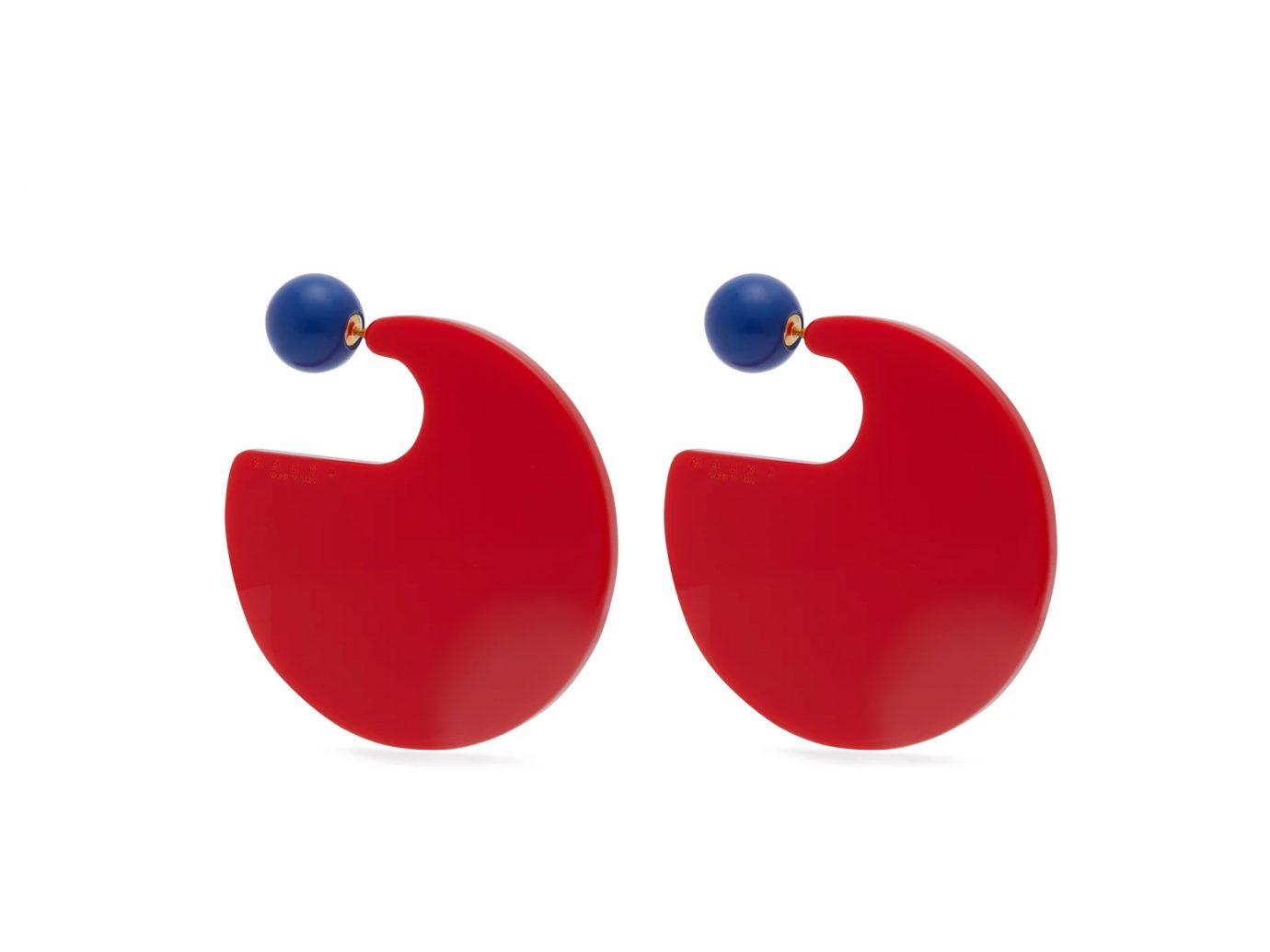Marni Resin Hoop Earrings