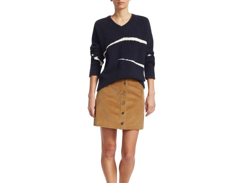 Elizabeth and James Pembra Abstract Knit Sweater
