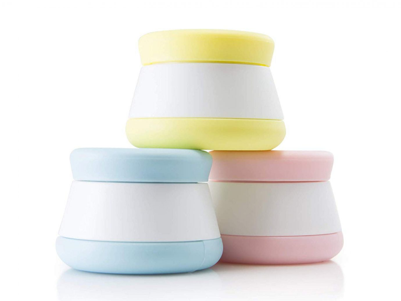 Silicone Cosmetic Cream Travel Jars