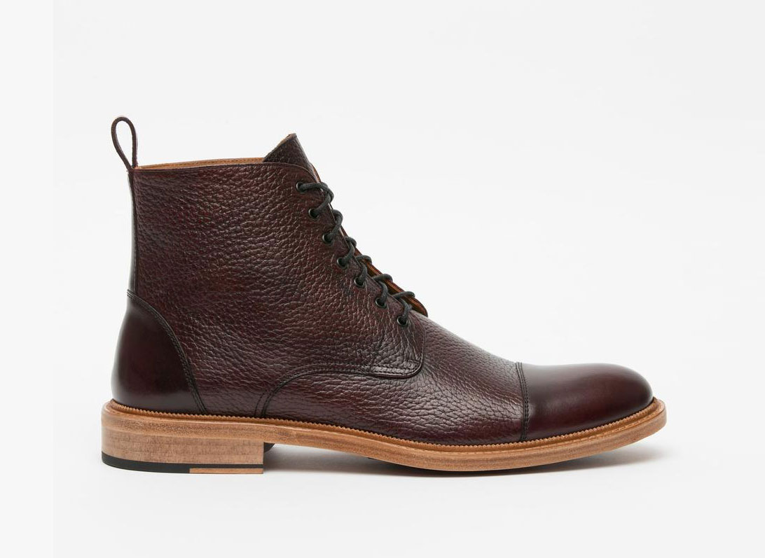 Taft The Rome Boot in Oxblood