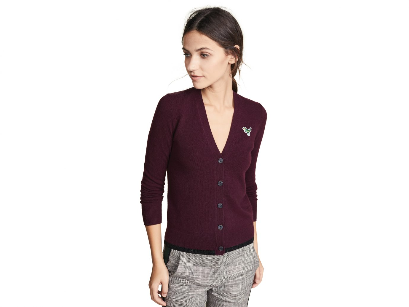 Coach 1941 Cardigan with Rexy Patch