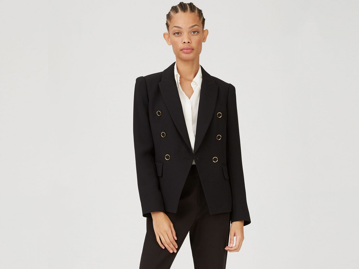 Jowdie Button Blazer