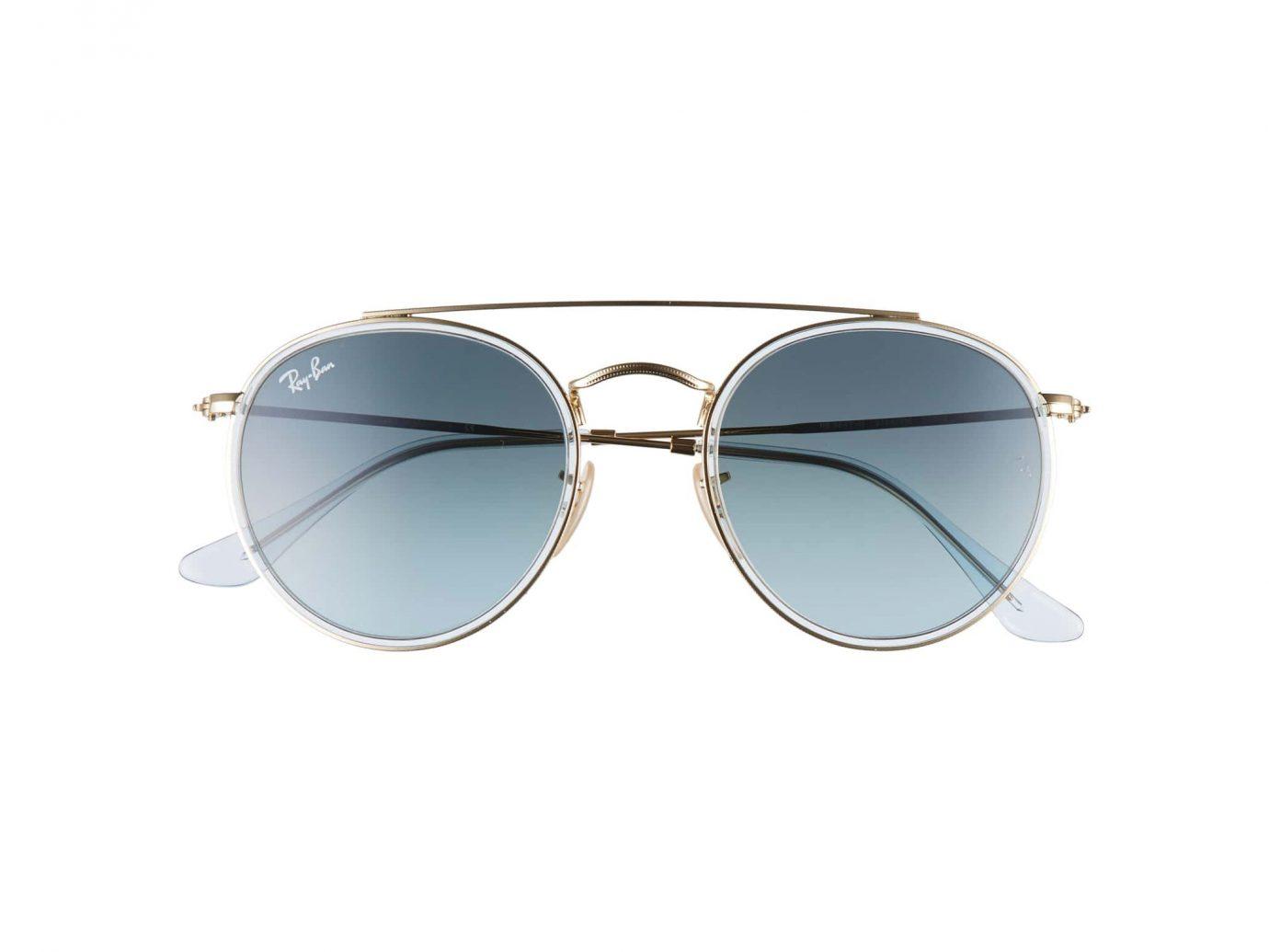 51mm Aviator Gradient Lens Sunglasses