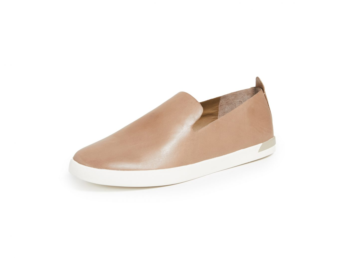 gold slip on sneakers, Vince Vero Loafers
