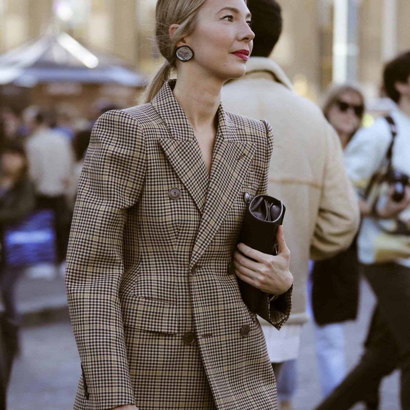 fall jackets, fashionable woman in blazer