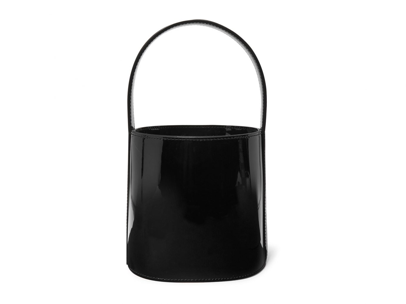 Staud Bissett Patent Leather Bucket Bag