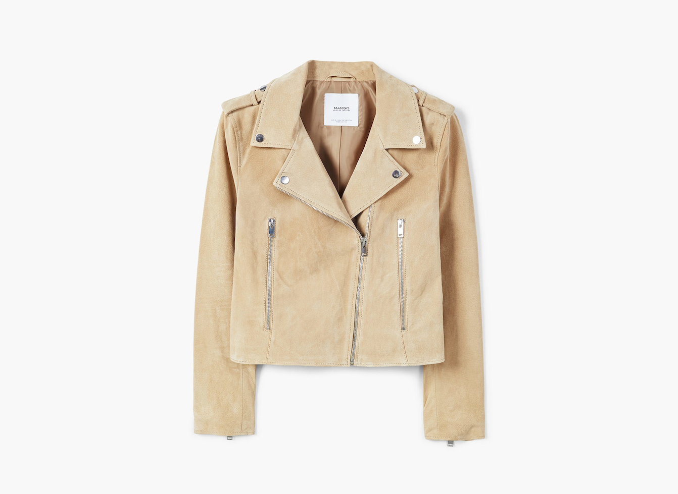 Suede biker jacket on sale
