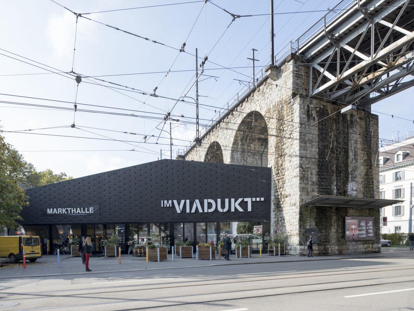 Markthalle im Viadukt