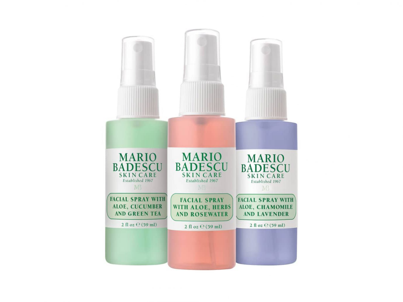 Mario Badescu Facial Spray Trio