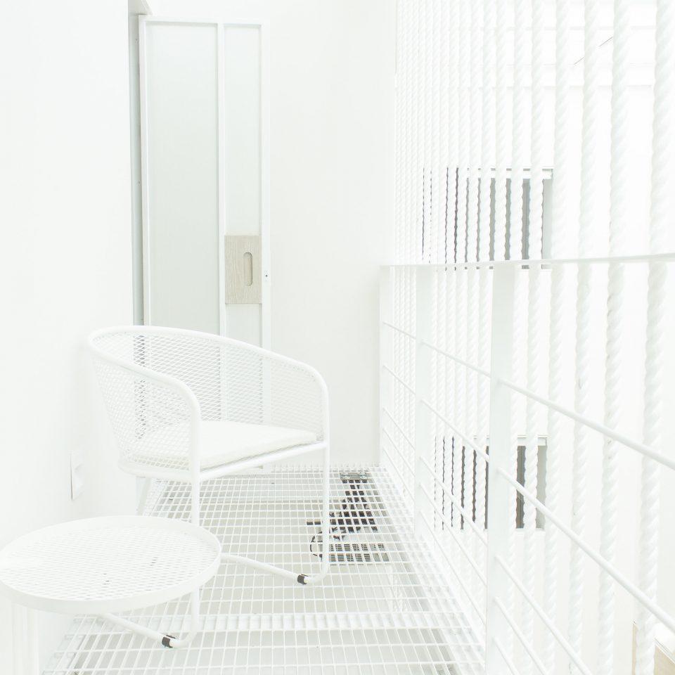 Balcony space at Ryo Kan
