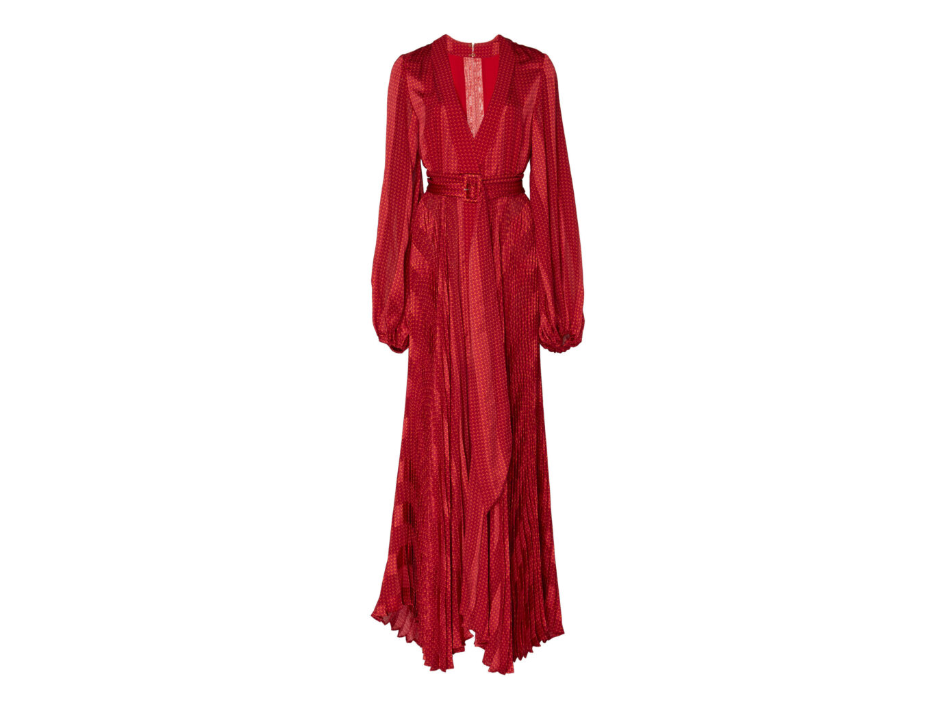 Alexis Salomo Printed Maxi Dress
