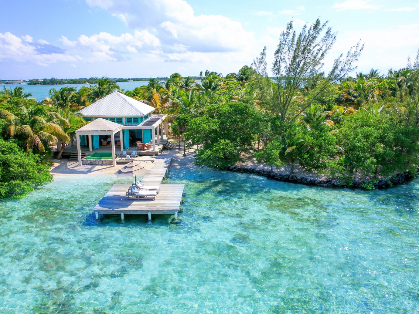 Island resort Cayo Espanto in Belize