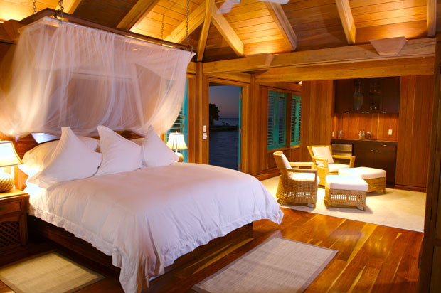 Room at Cayo Espanto