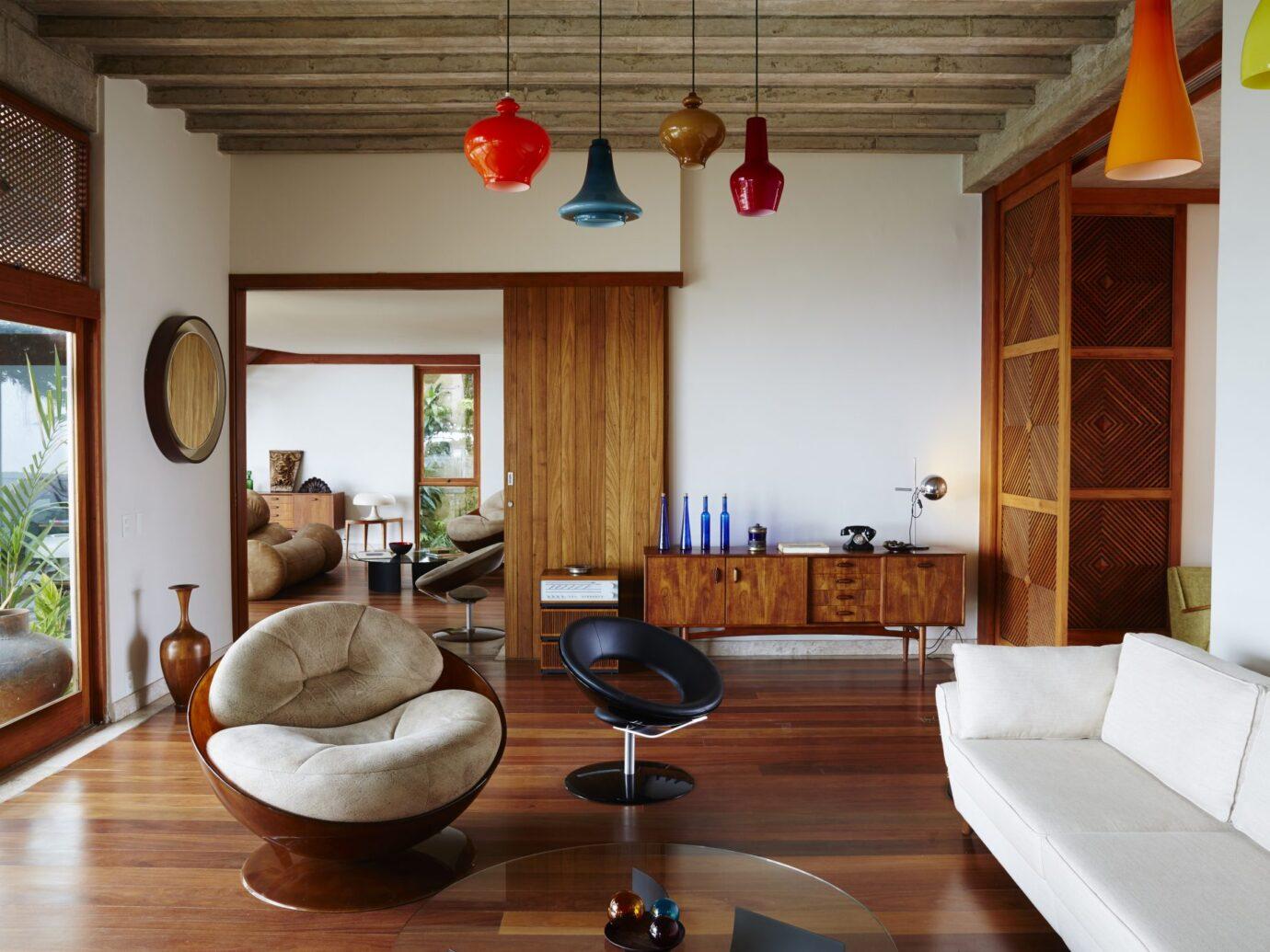 Living room at Chez Georges Rio de Janeiro