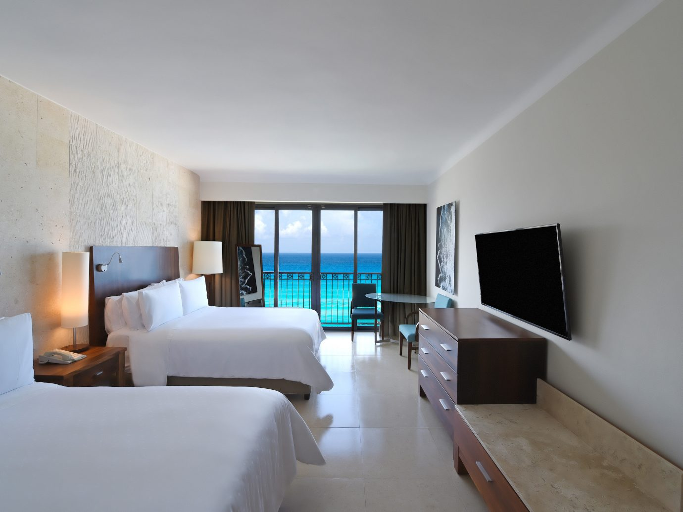 bedroom at Fiesta Americana Condesa Cancun