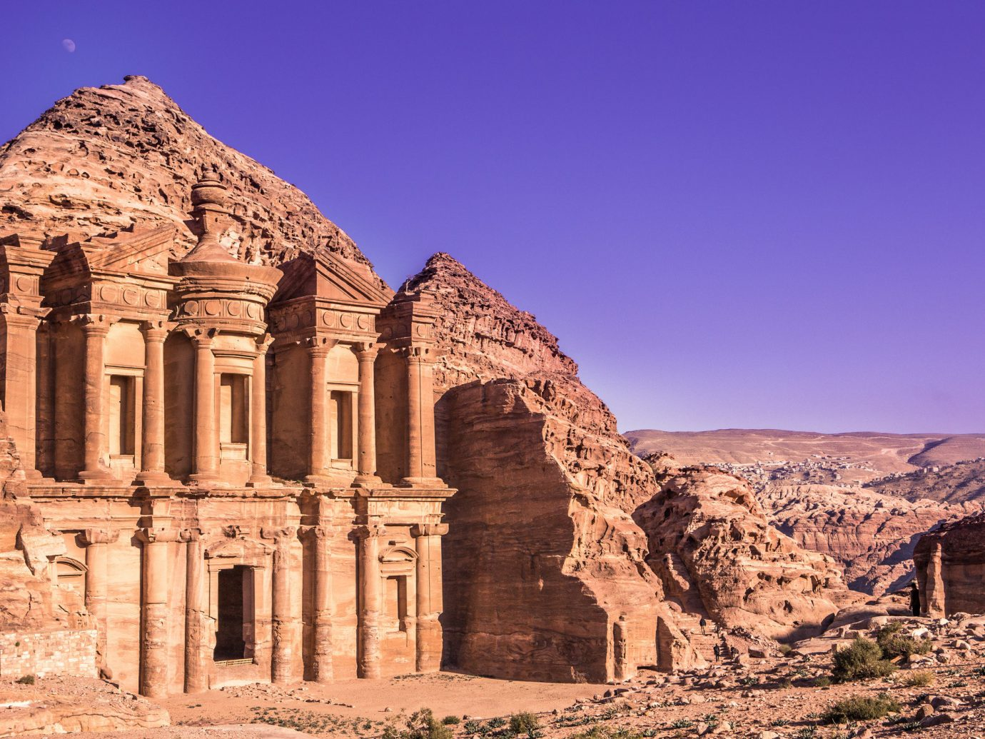 View of Petra Jordan