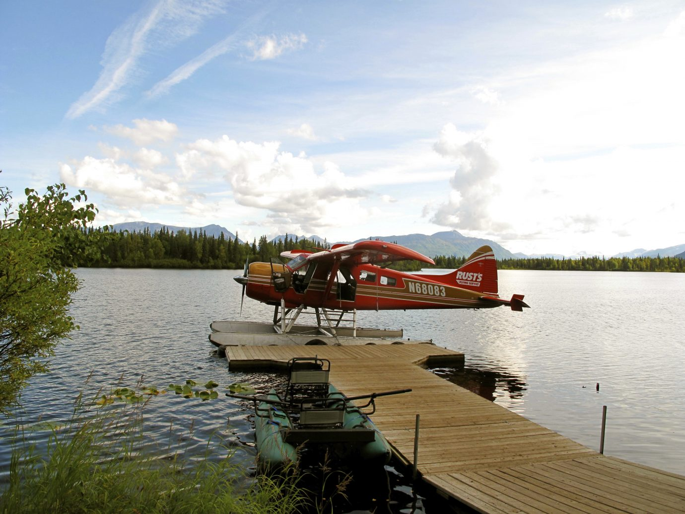 Float Place Dock at Winterlake Lodge