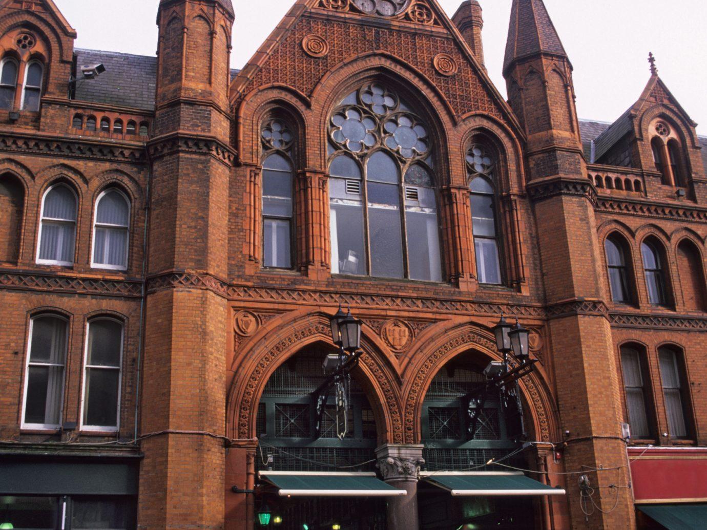 George's Street Arcade, a shopping centre in Dublin, Ireland.