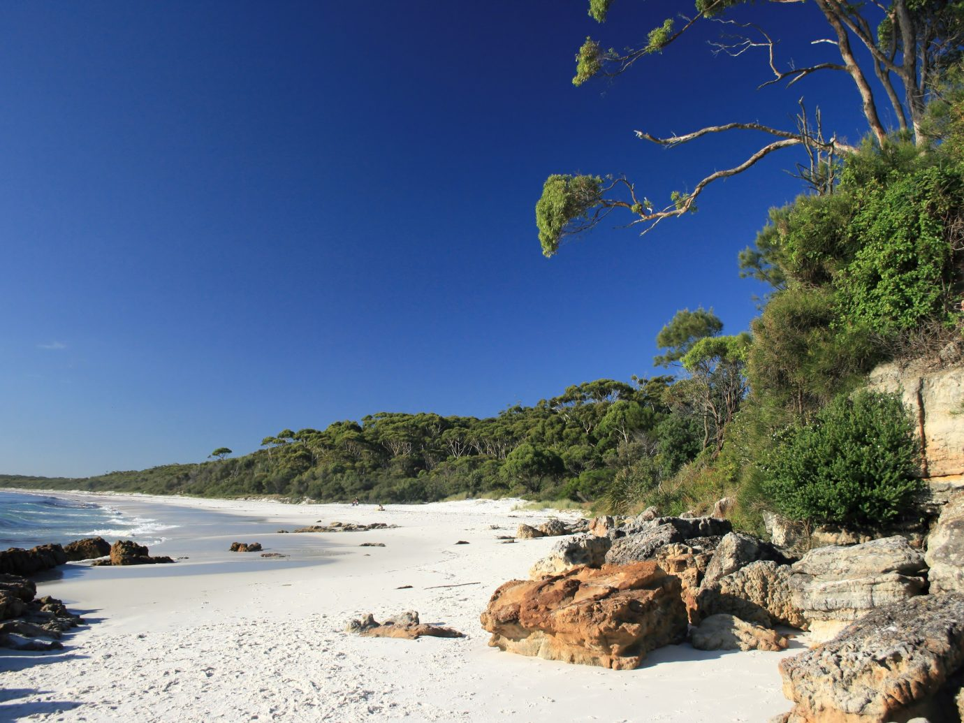 One of the beautiful beaches in Jarvis bay,NSW,Australia