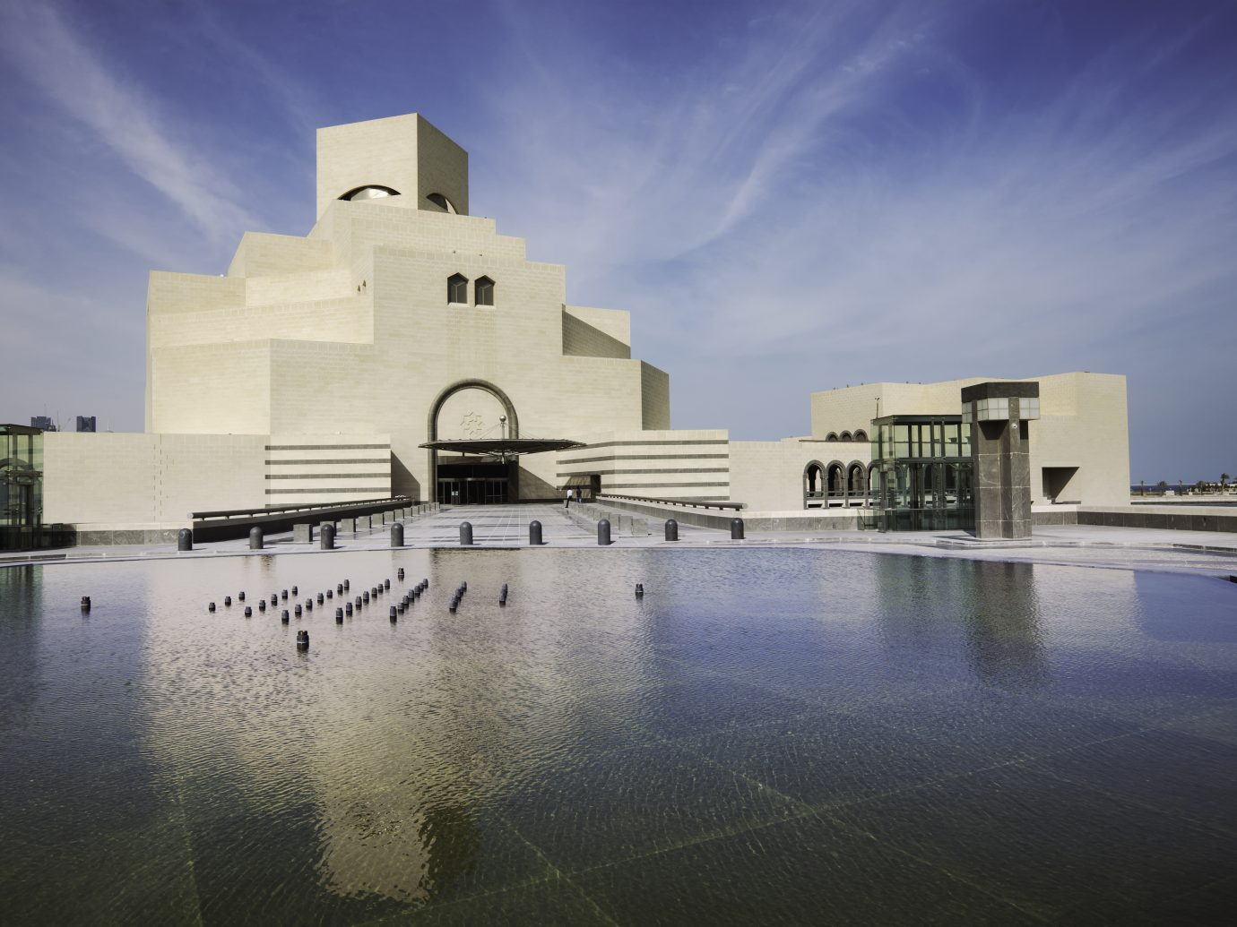 """The Museum of Islamic Art in Doha, Qatar."""