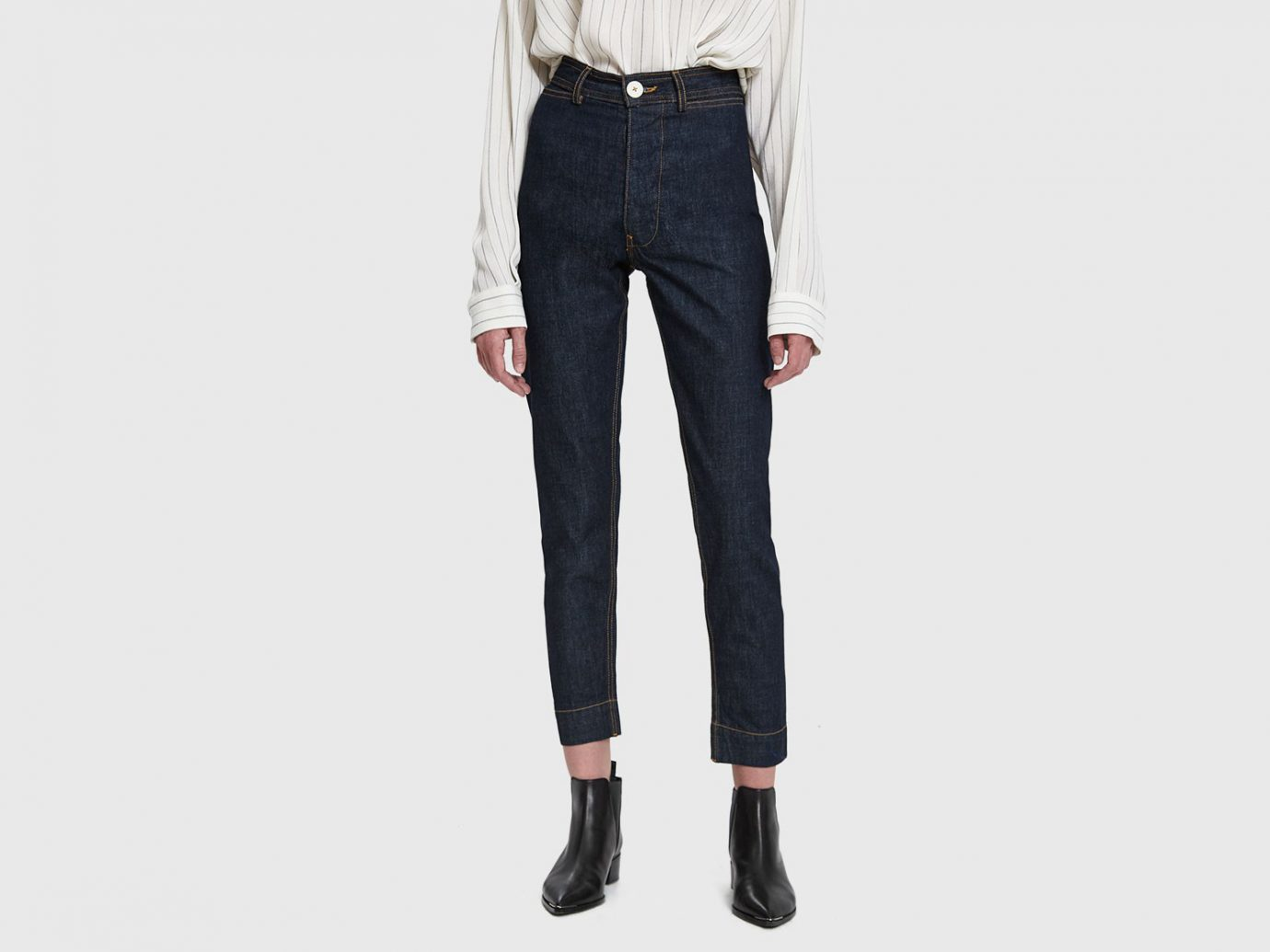 Jesse Kamm Denim Ranger Pant in Dark Blue